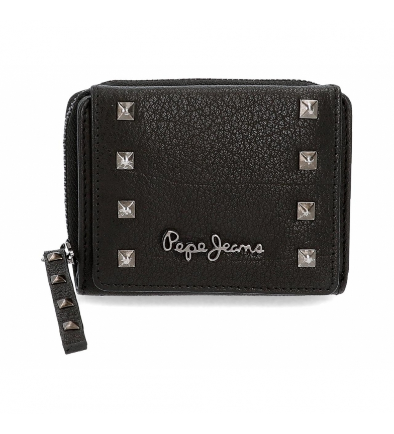 Comprar Pepe Jeans Pepe Jeans Alessia wallet with black click flap -10.5x8x3cm