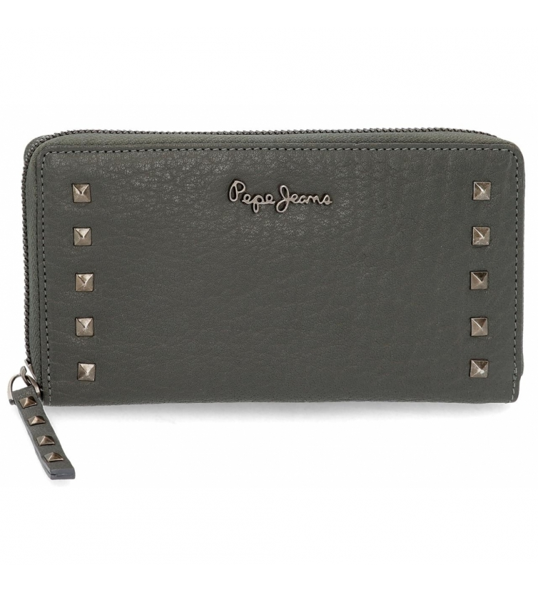 Comprar Pepe Jeans Pepe wallet Jeans Alessia grey -19.5x10x2cm-