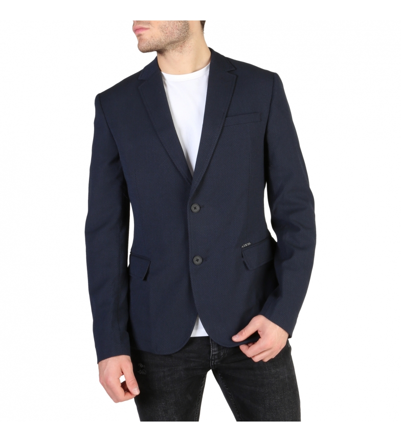 Comprar Guess Veste de costume M83N00 bleu