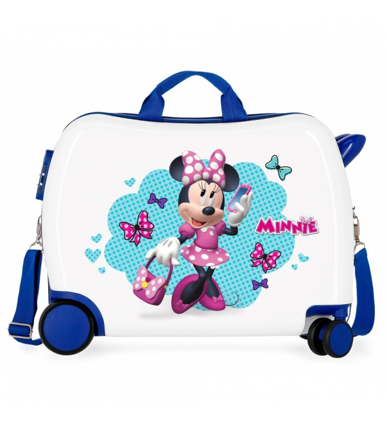 Comprar Minnie Maleta infantil 2 ruedas multidireccionales Minnie Good Mood multicolor -38x50x20cm-