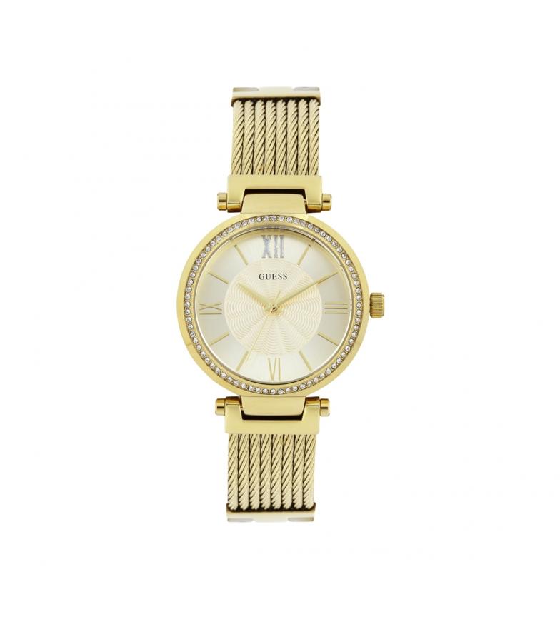 Comprar Guess Reloj analógico W0638 amarillo