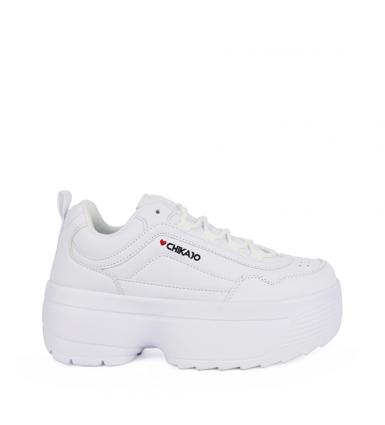Comprar Chika10  Chaussures Super beyonce 01 blanc -Plateforme haute : 6cm