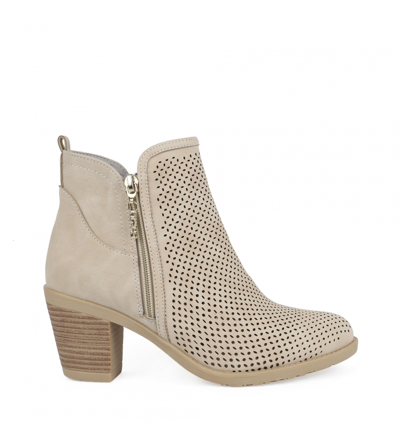 Comprar Chika10 Tonia 05 stone ankle boots -Heel height: 7cm