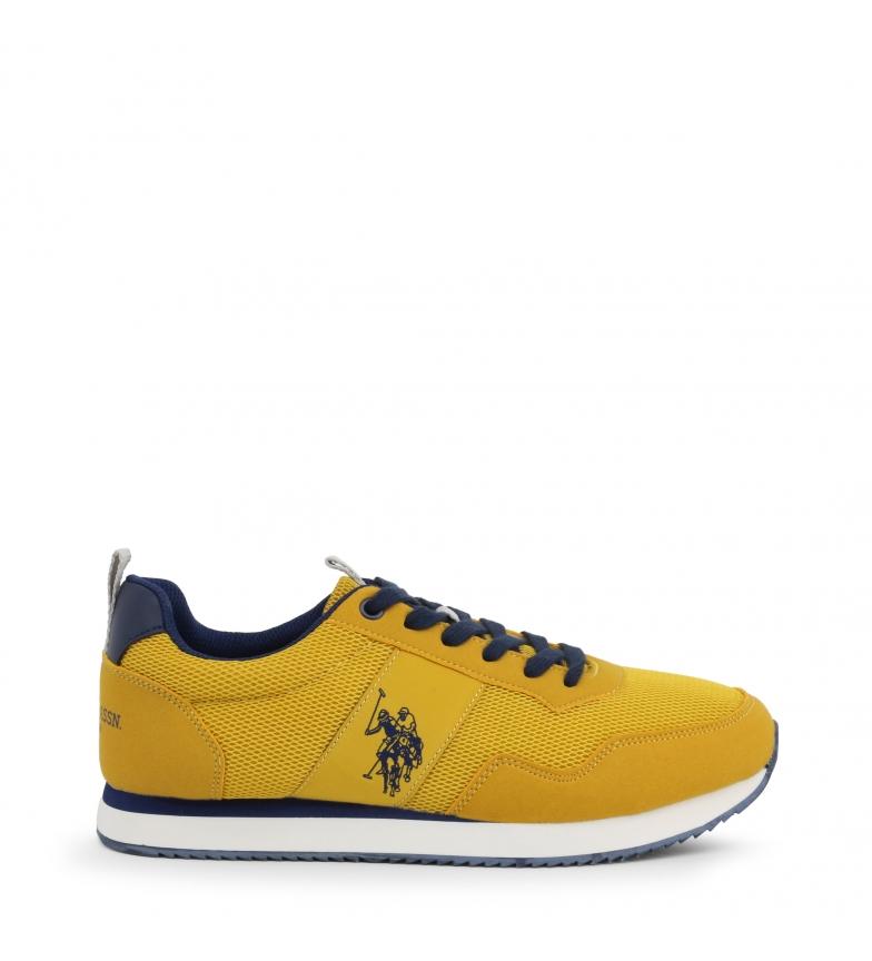 Comprar U.S. Polo Assn. Zapatillas NOBIL4243S0_TH1 amarillo