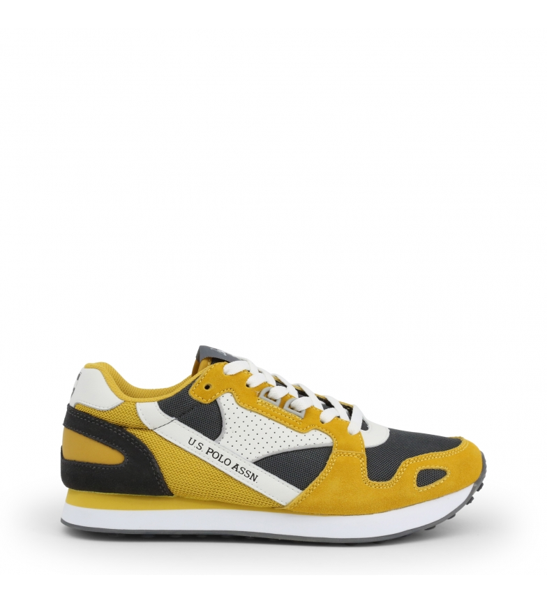 Comprar U.S. Polo Assn. Zapatillas FLASH4117S0_YM1 amarillo