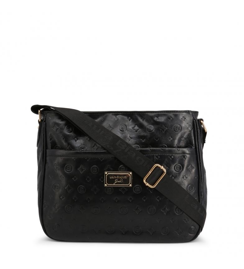 Comprar Laura Biagiotti Bolsa de mão LB001 preta -35x27x12,5cm