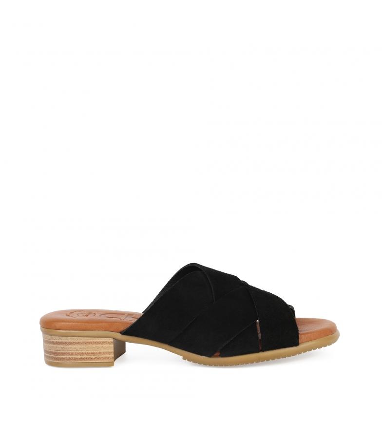 Comprar Chika10 Sandalias de piel Tivolino 05 negro