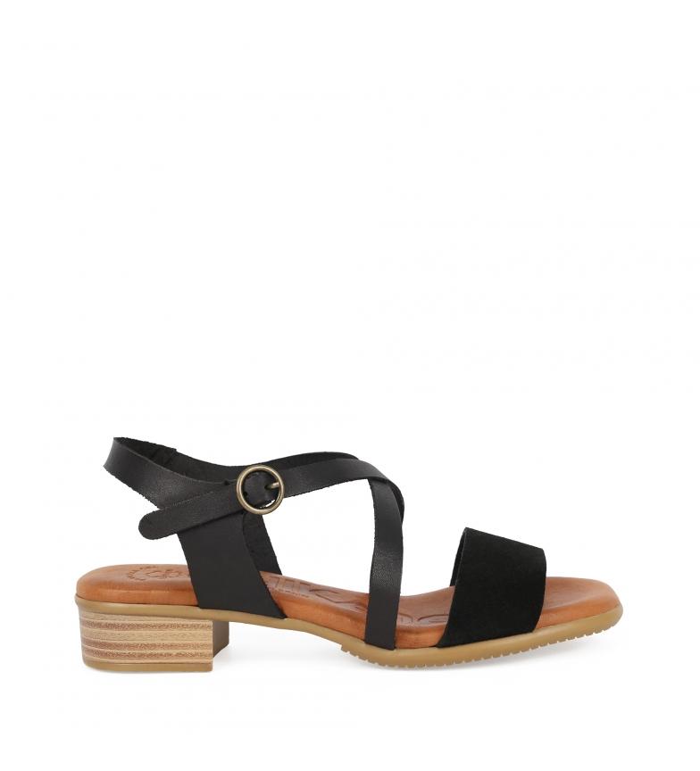 Comprar Chika10 Sandalias de piel Tivolino 06 negro