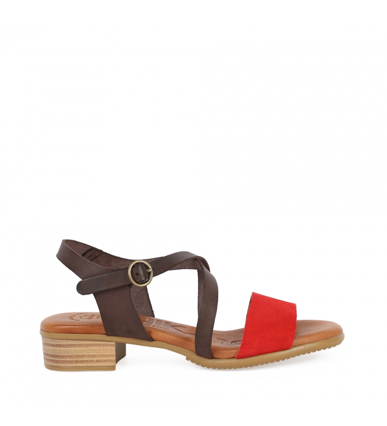 Comprar Chika10 Leather sandals Tivolino 06 red