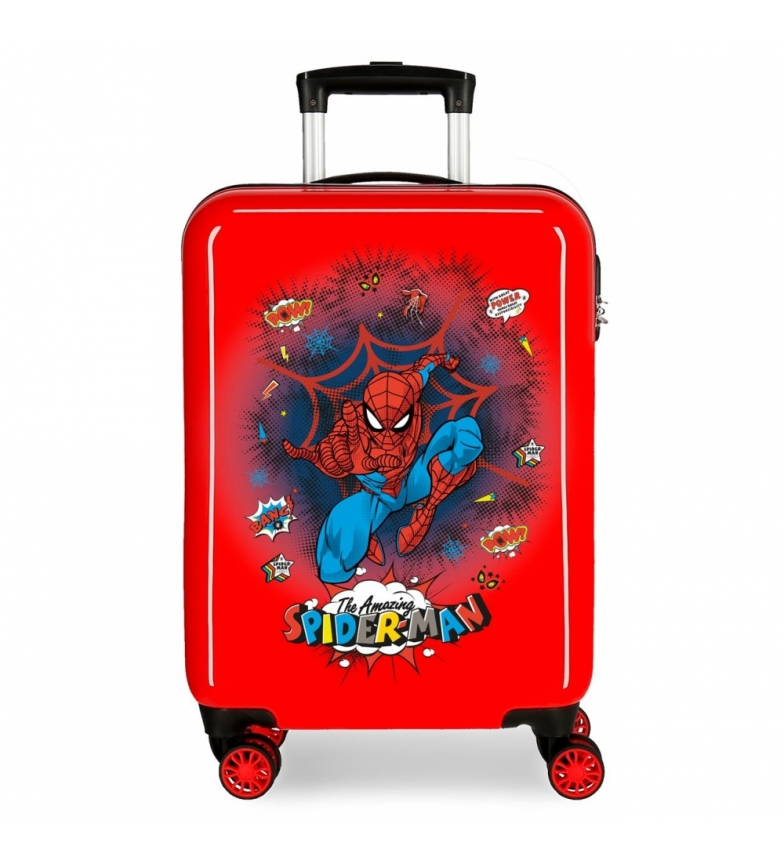 Comprar Spiderman Valigia Spiderman Pop Cabin rossa rigida -38x55x20cm-