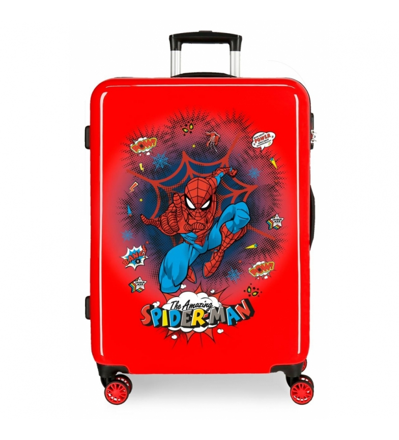Comprar Spiderman Spider-Man Red Rigid Pop Suitcase -68x48x26cm