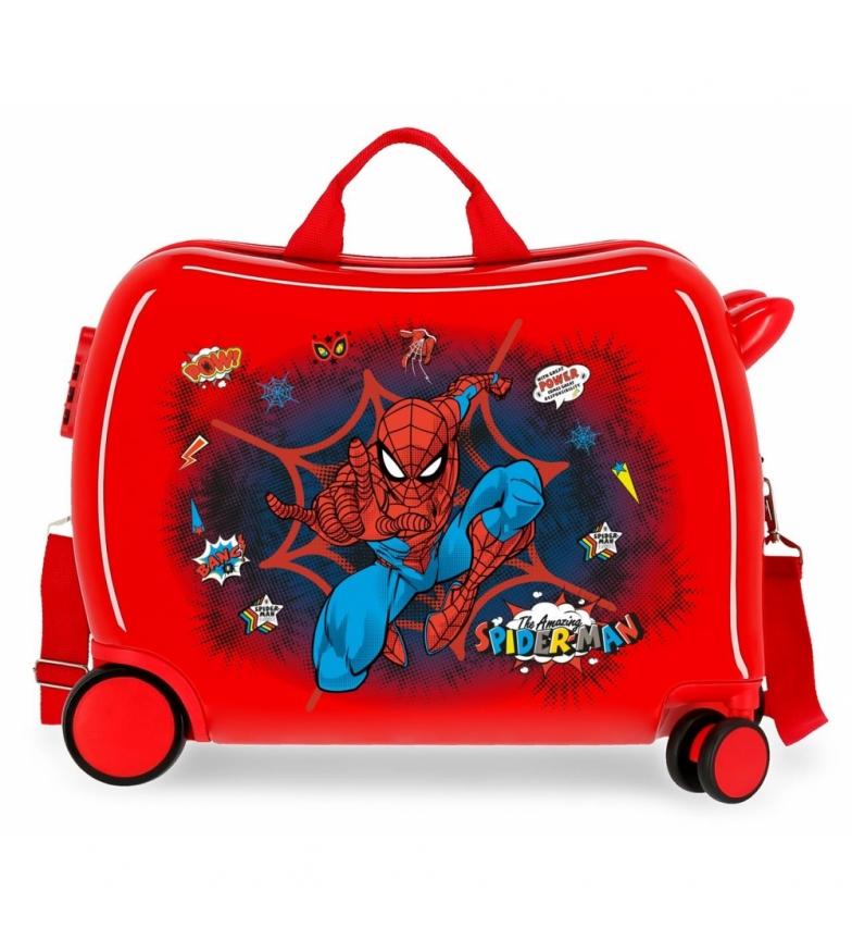 Comprar Spiderman Spider-Man Pop red suitcase -38x50x20cm