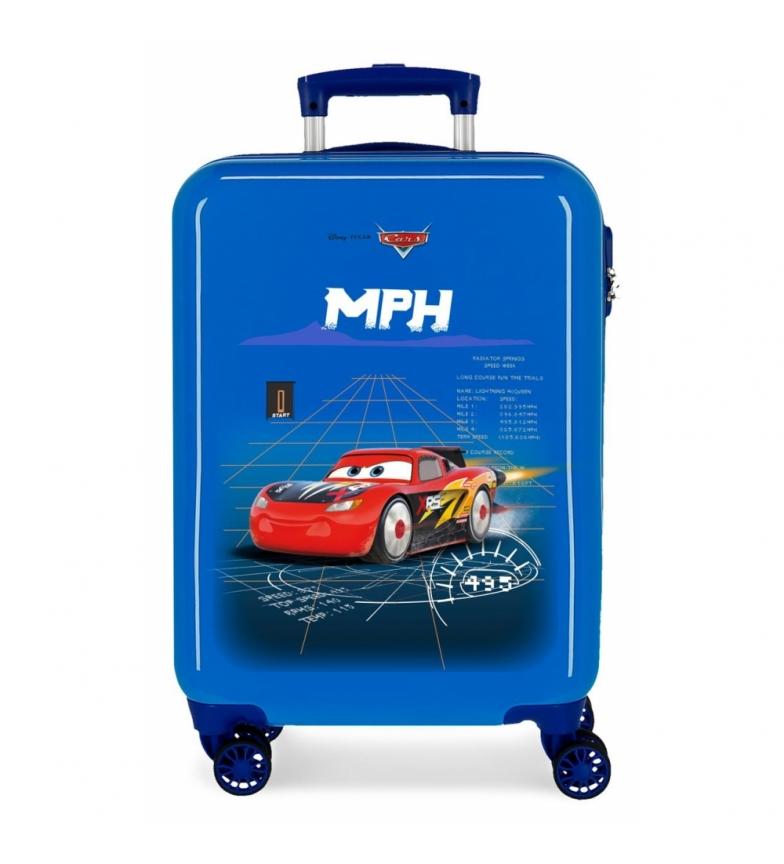 Comprar Cars Valigia blu rigida per auto Rocket Racing -38x55x20cm-