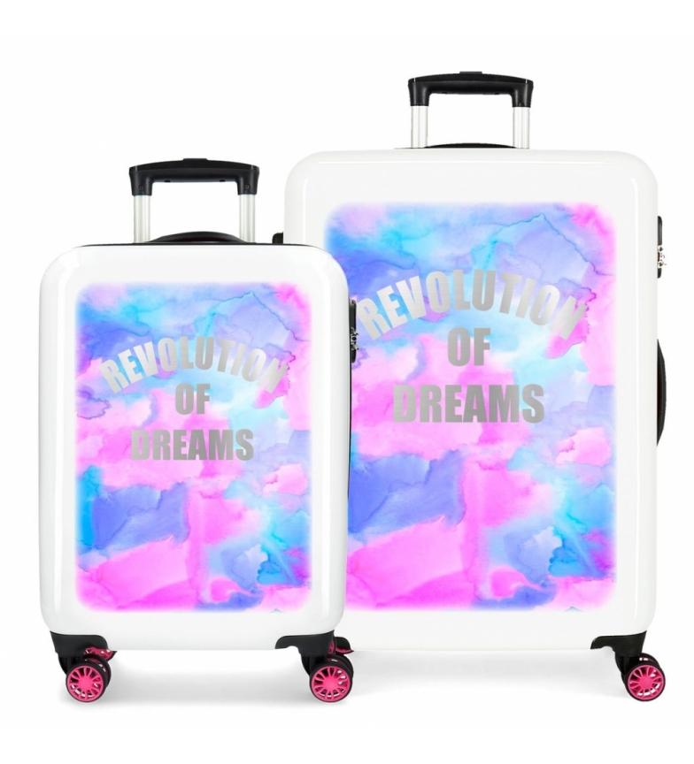Comprar Movom Luggage set Movom Revolution Dreams rigid multicolor -38x55x20/48x68x26cm