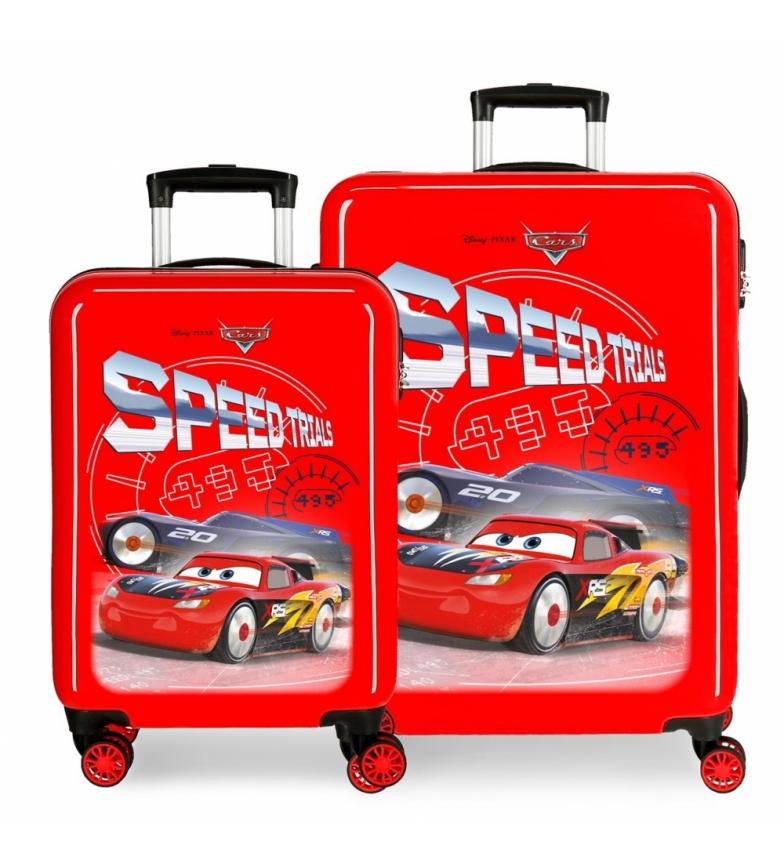 Comprar Cars Set valigie Speed Trails rigide per auto -38x50x20 / 48x68x26cm-