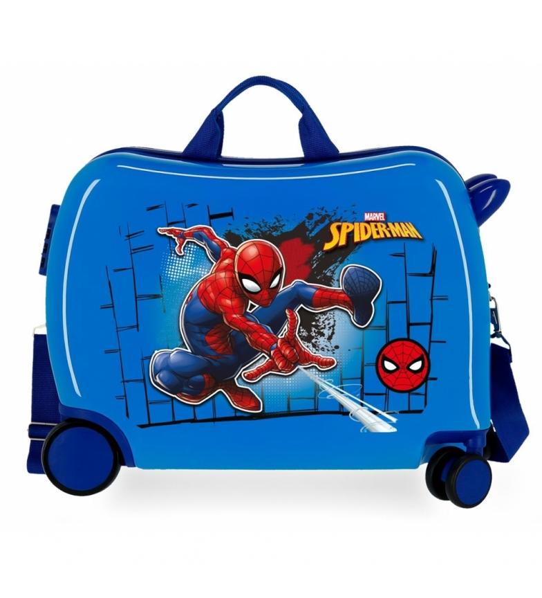 Comprar Spiderman Valigia per bambini Spiderman rosso -38x50x20cm-