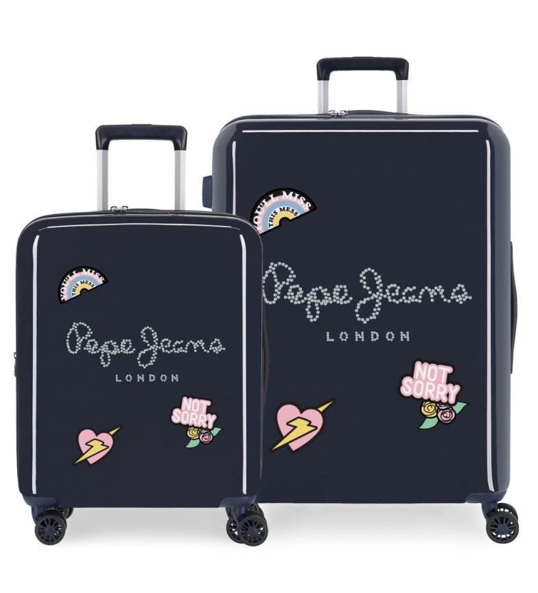 Comprar Pepe Jeans Ensemble de valises rigides Pepe Jeans Emi 55-70 cm