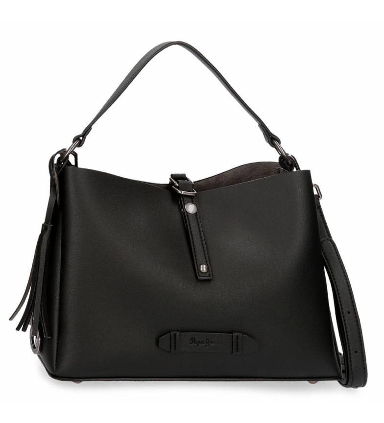 Comprar Pepe Jeans Bolso Pepe Jeans Angelica Negro -32x21x13cm-