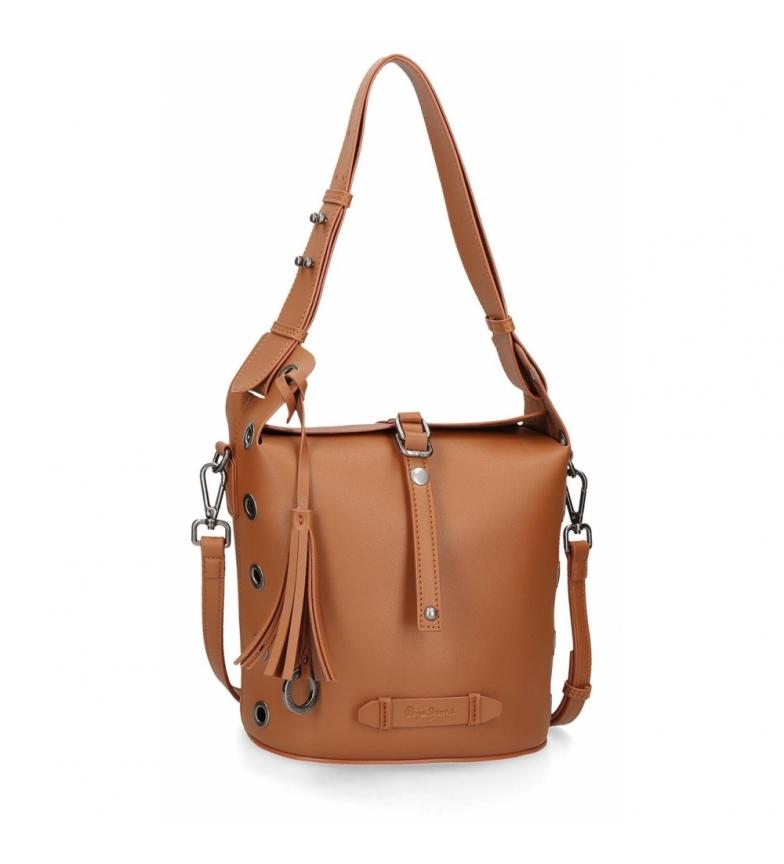 Comprar Pepe Jeans Pepe Jeans Angelica Brown shoulder bag -22x22x16cm