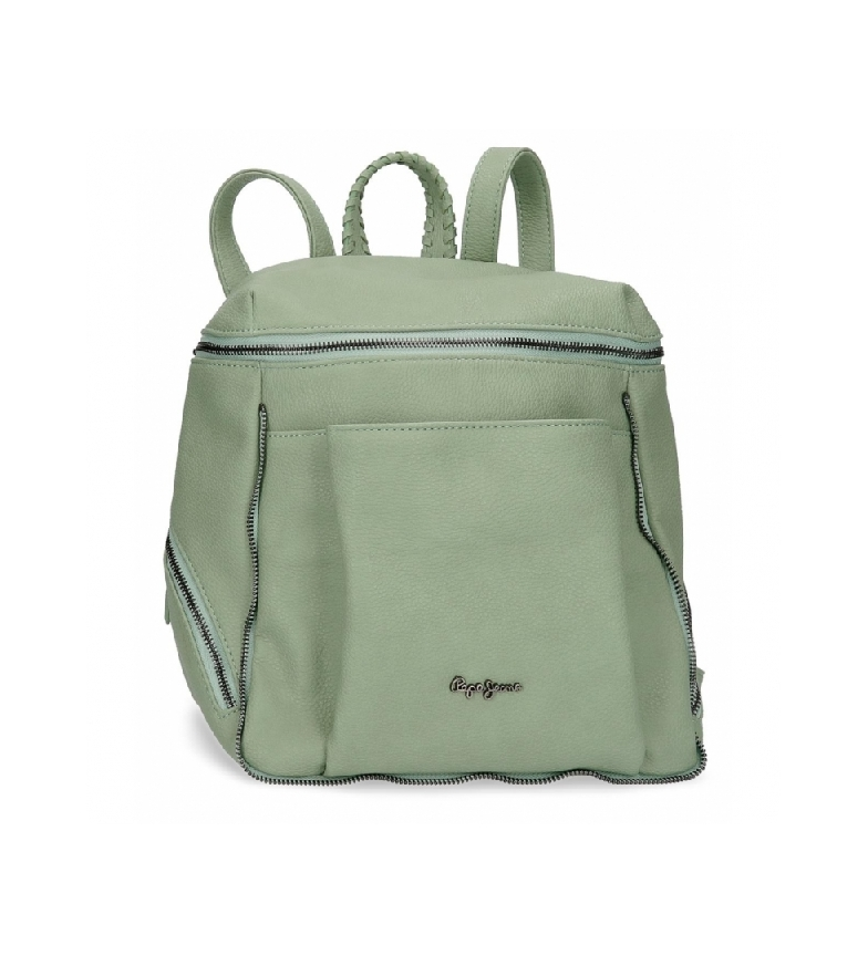 Comprar Pepe Jeans Pepe Jeans Braid Backpack Green -27x35x14cm