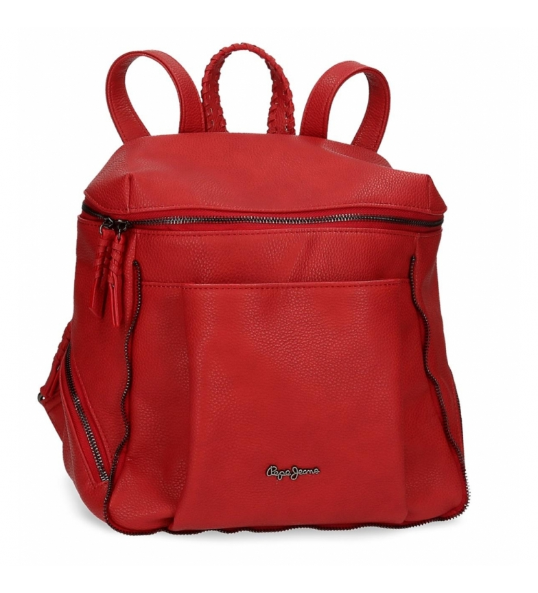 Comprar Pepe Jeans Pepe Jeans Braid backpack red -27x35x14cm
