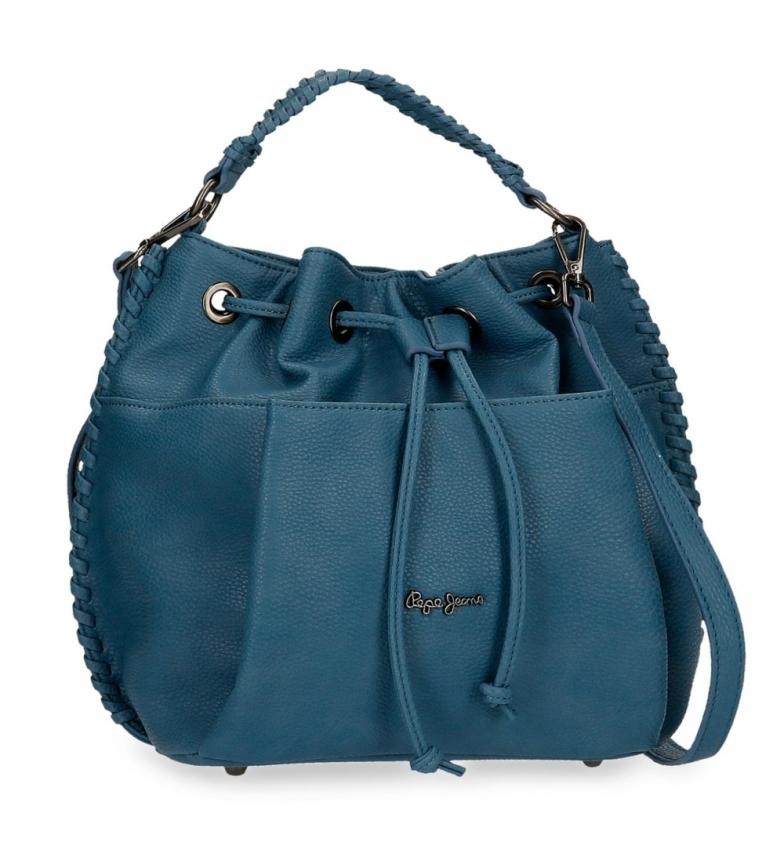 Comprar Pepe Jeans Pepe Jeans Braid Blue Bag -25x27x16cm