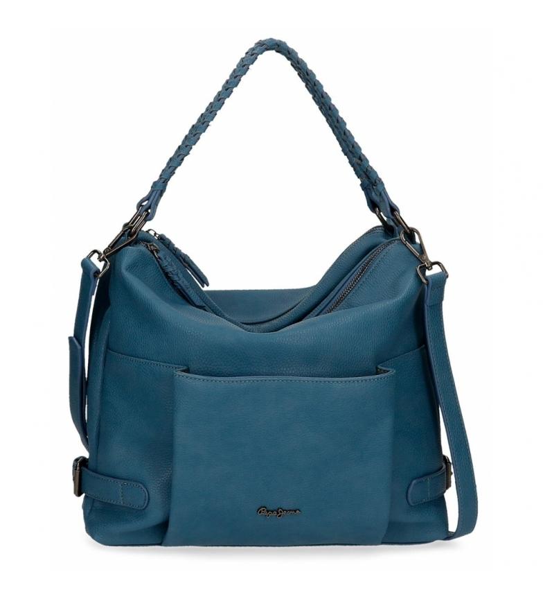 Comprar Pepe Jeans Hobo Pepe Jeans Braid Blue Bag -33x30x12cm