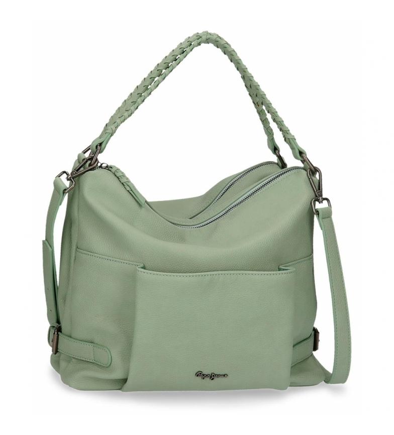 Comprar Pepe Jeans Pepe Jeans Braid Hobo Bag Green -33x30x12cm