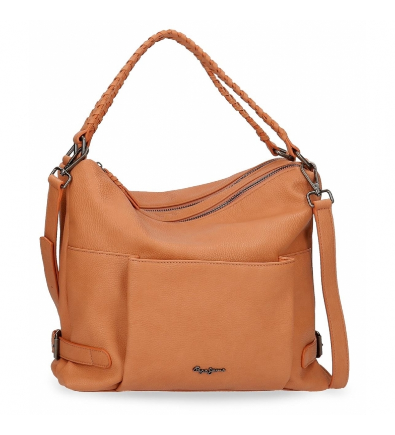 Comprar Pepe Jeans Pepe Jeans Braid Brown Hobo Bag -33x30x12cm