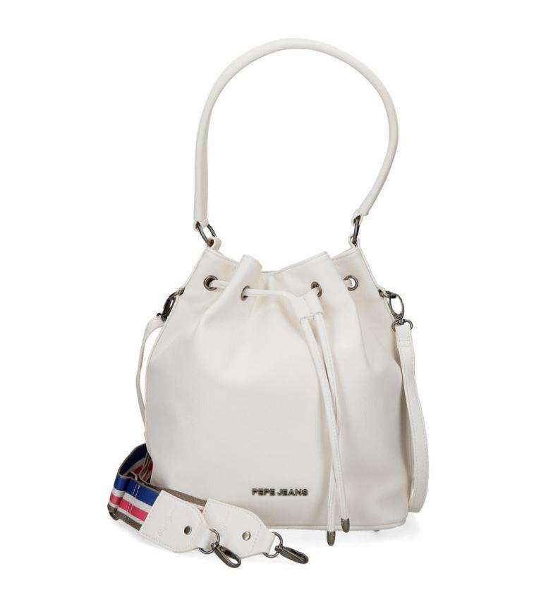 Comprar Pepe Jeans Pepe Jeans Eva White Shoulder Bag -26x30x14cm