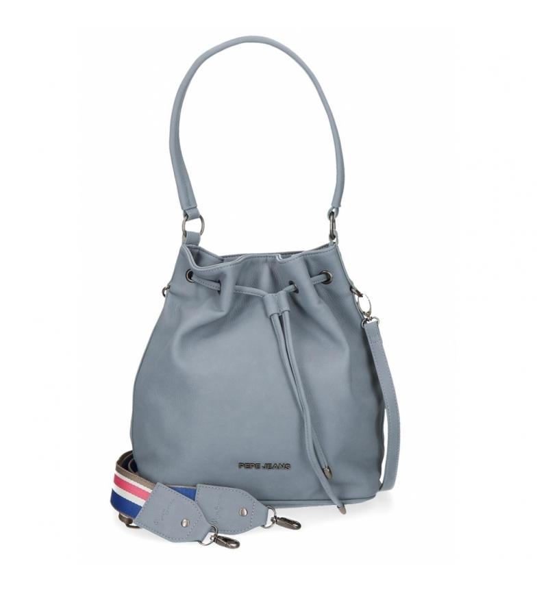 Comprar Pepe Jeans Pepe Jeans Eva Shoulder Bag Blue -26x30x14cm