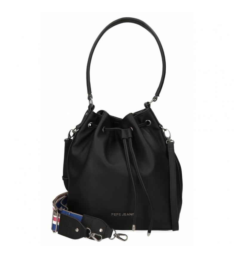 Comprar Pepe Jeans Pepe Jeans Eva Black Shoulder Bag -26x30x14cm