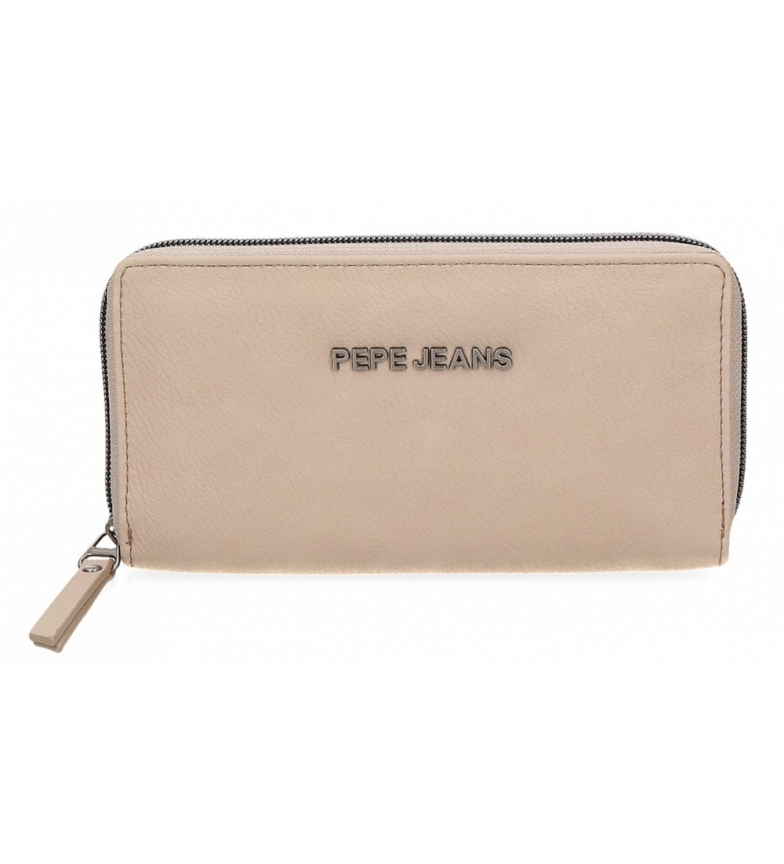 Comprar Pepe Jeans Pepe Jeans Eva Taupe wallet -18x10x2cm