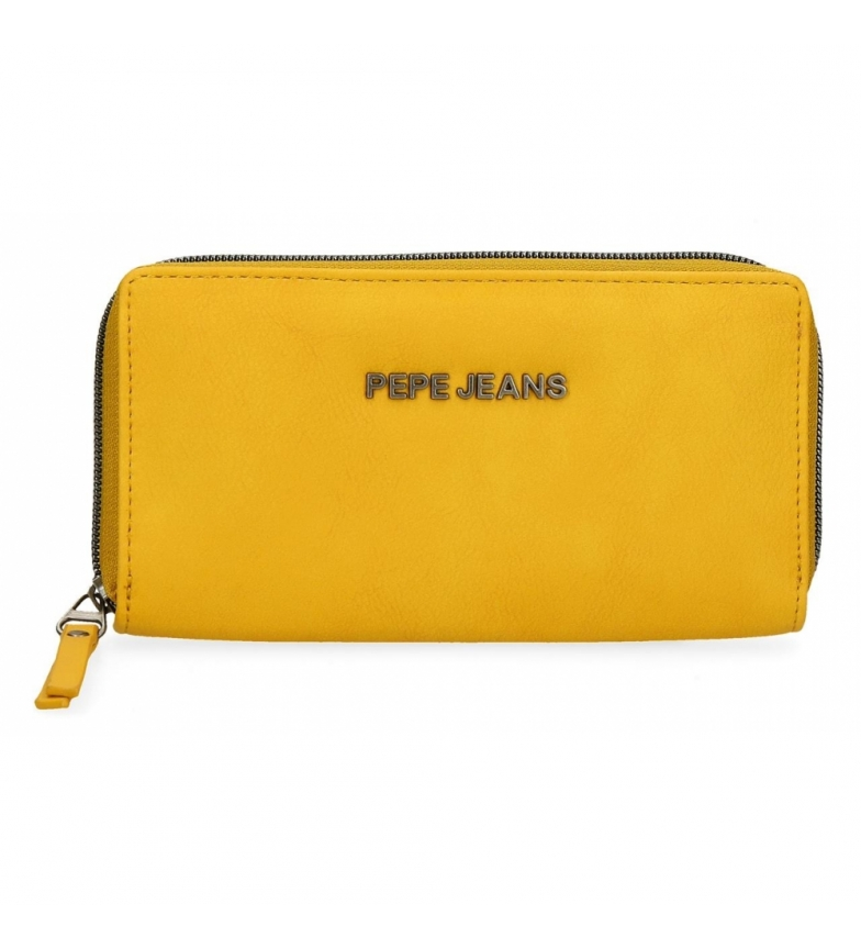 Comprar Pepe Jeans Portafoglio Pepe Jeans Eva Ocre -18x10x2cm-