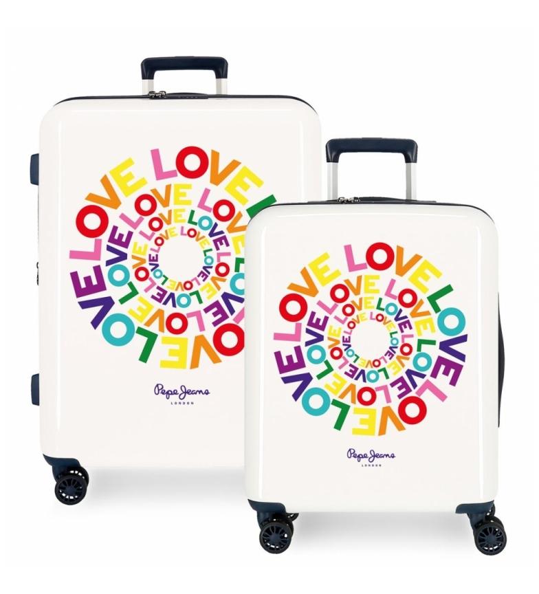 Comprar Pepe Jeans Pepe Jeans rigid suitcase set 38,4L and 81L Pride -55x40x20cm/70x48x26cm