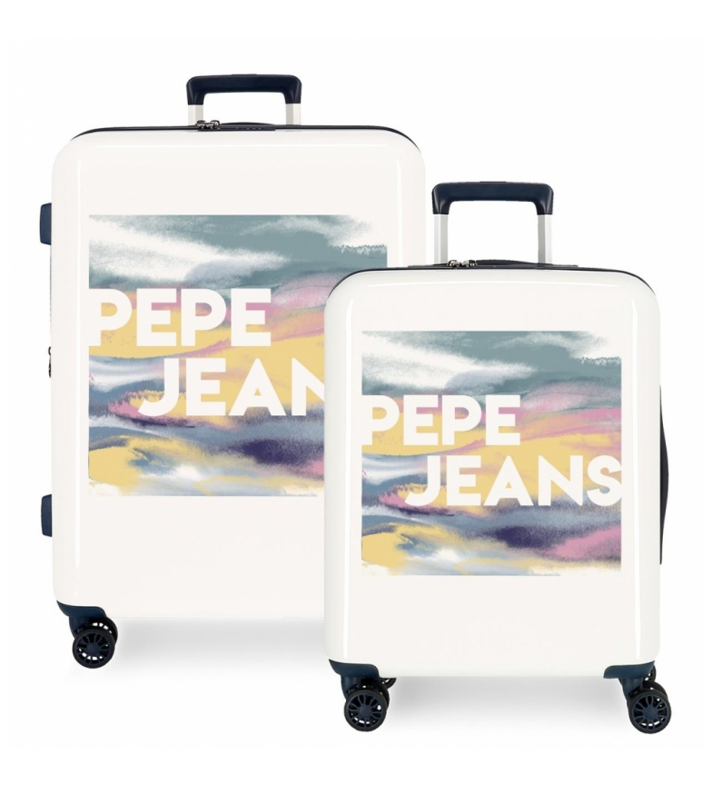 Comprar Pepe Jeans Set di valigie rigide Pepe Jeans 38.4L e 81L Blossom -55x40x20cm / 70x48x26cm-
