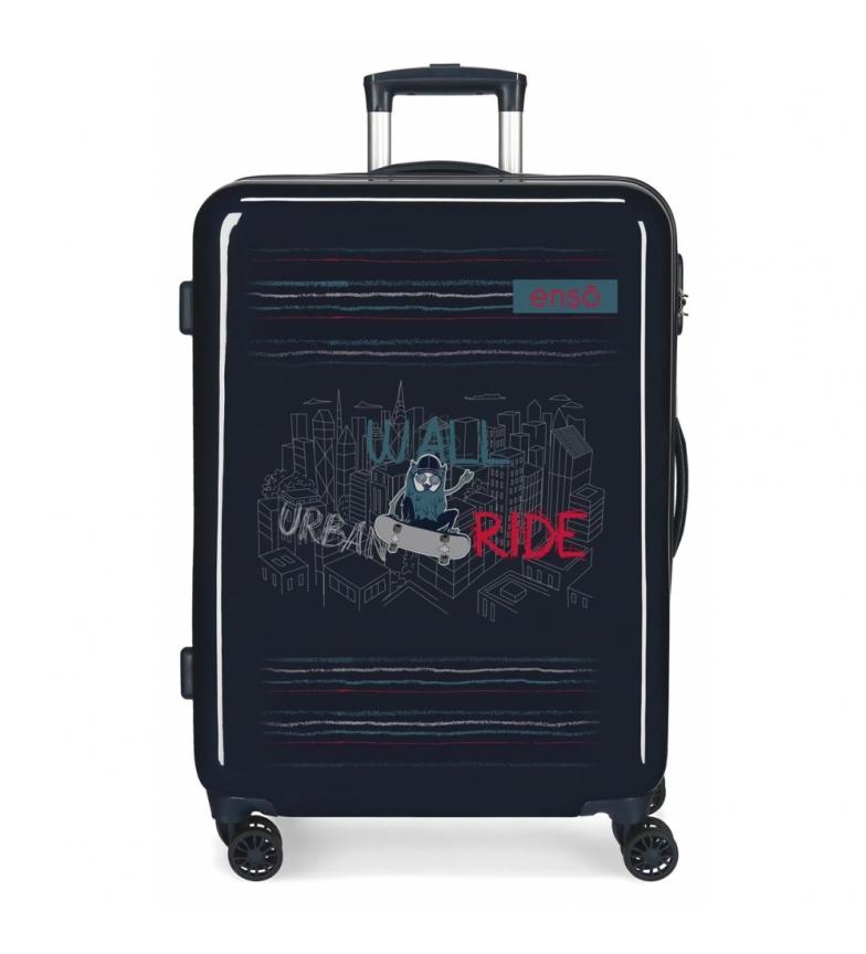 Comprar Enso Maleta Mediana Enso Wall Ride rígida azul -68x48x26cm-
