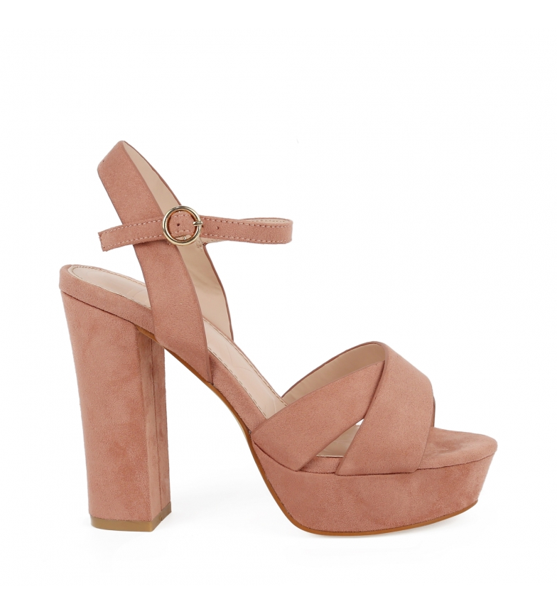 Comprar Chika10 Saturday 04 nude sandals -Heel height: 11cm