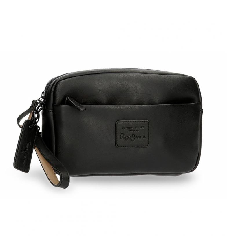 Comprar Pepe Jeans Pepe Jeans Vegan Handbag Black -24,5x15x6cm