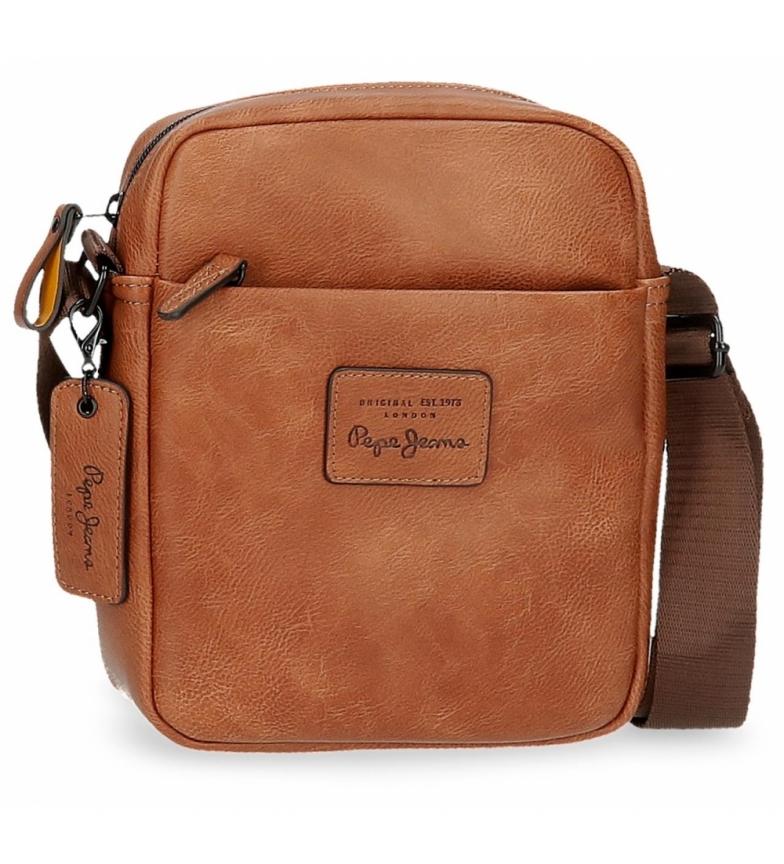 Comprar Pepe Jeans Pepe Jeans Vegan saco médio de ombro castanho -17x22x6cm