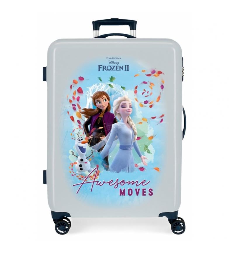 Comprar Frozen Frozen Awesome Moves Medium Suitcase azul rígido -68x48x26cm