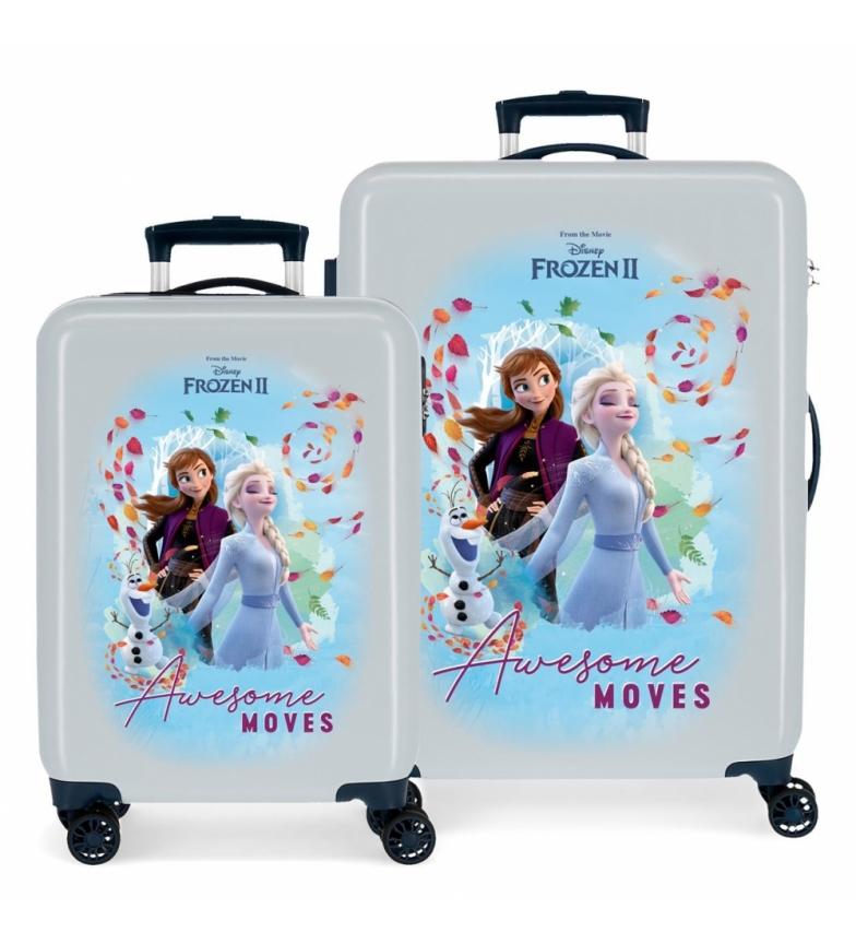 Comprar Frozen Frozen Awesome Moves blue suitcase set -38x55x20cm