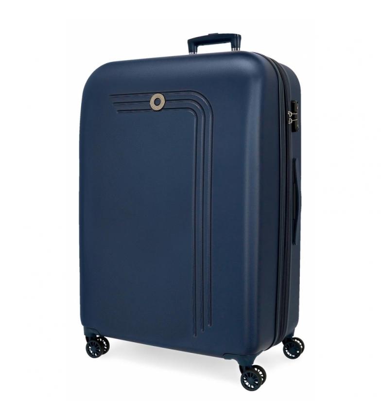 Comprar Movom Grande valise Movom Riga Rigide bleu marine -56x80x29cm