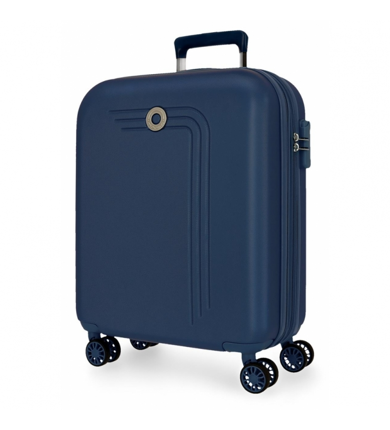 Movom Movom Riga Expandable Cabin Bag navy blue -40x55x20cm