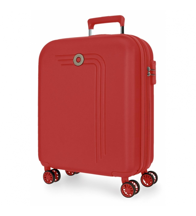 Movom Movom Riga Valigia cabina espandibile rossa -40x55x20cm-