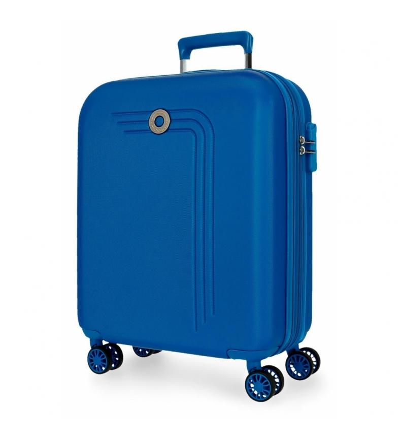 Movom Maleta de Cabina Movom Riga Expandible azul claro -40x55x20cm-