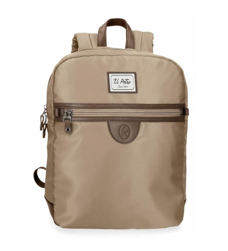 Comprar El Potro El Potro Pipe camel 13,3 inches laptop backpack -26x35x10cm