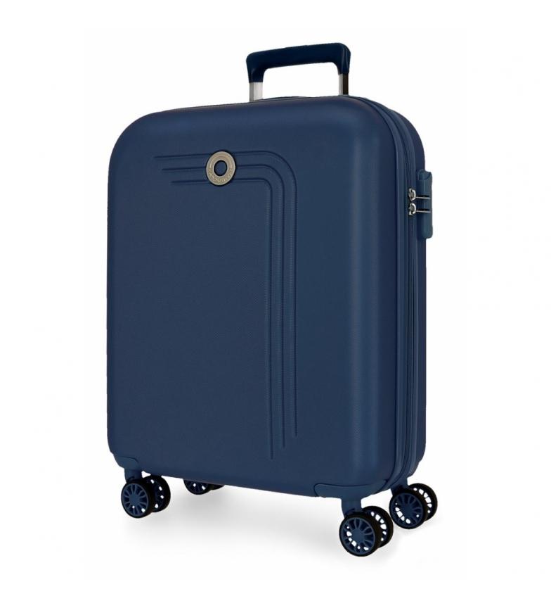 Comprar Movom Movom Riga mallette rigide pour cabine 55cm bleu marine -40x55x20cm