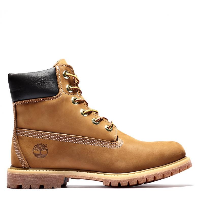 Comprar Timberland Botas de piel 6in Premium marrón / PrimaLoft