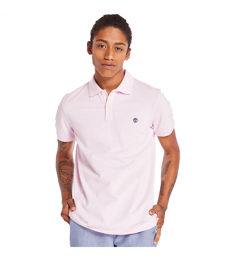 Comprar Timberland Polo Jacquard Millers rosa
